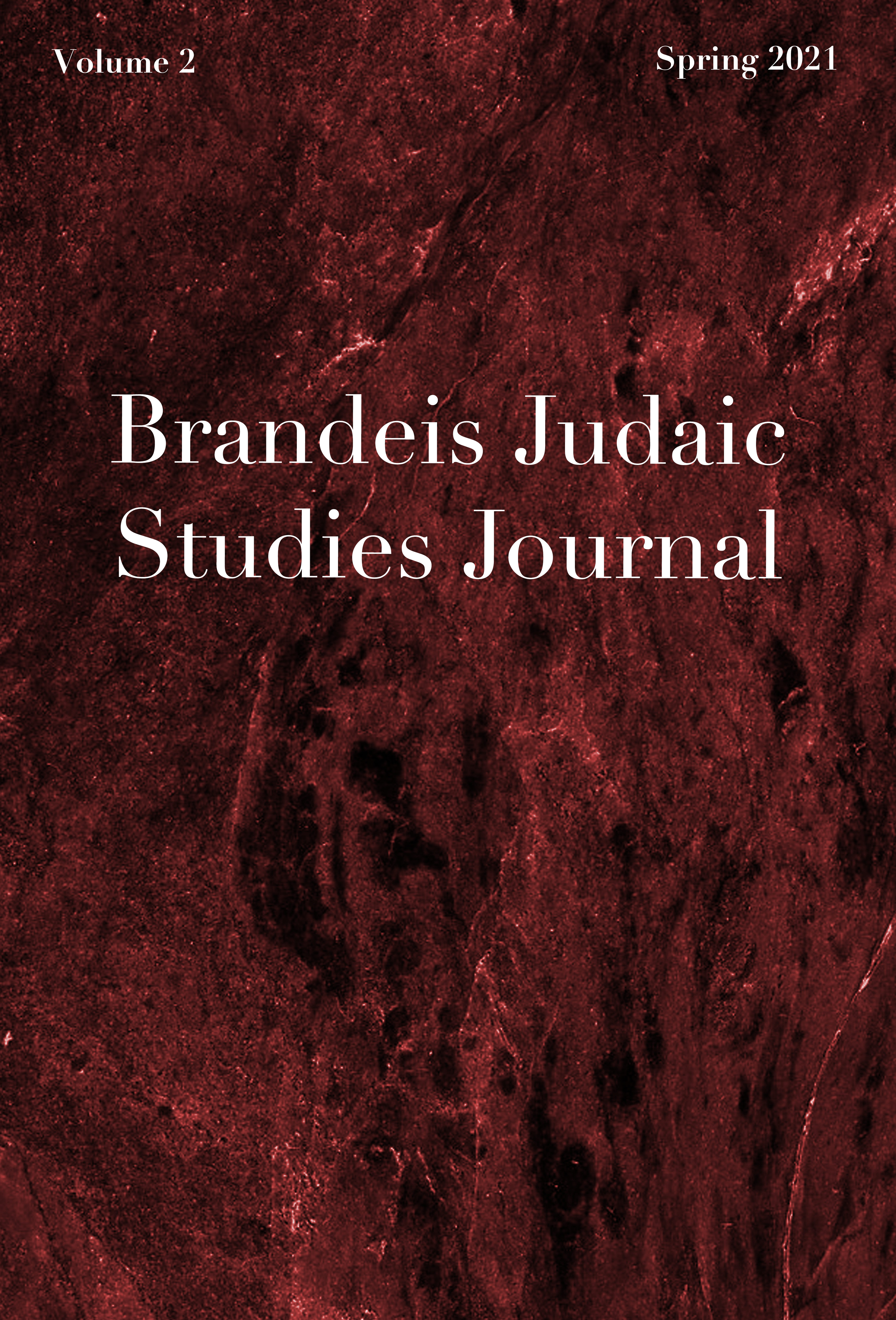 Brandeis Judaic Studies Journal (Volume 2)